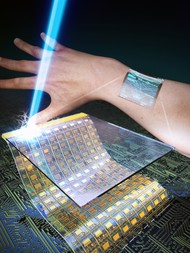 Research team develops ultrathin, transparent oxide thin-film transistors for wearable display