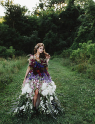 A Dress Made of Flowers