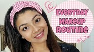 Get Ready with me in 5 minutes || Everyday Makeup Routine - LINDA