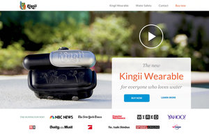 Kingii - The new wearable increases water safety